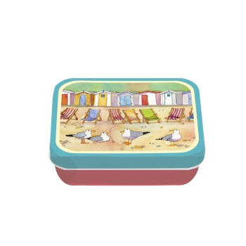 Beach Huts Mini Tin