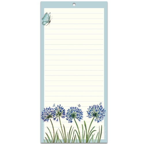 Agapanthus Magnetic notepad