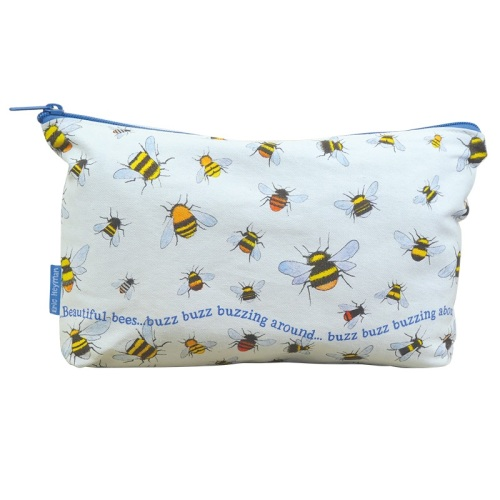 NEW Busy Bees Zipped Project Bag
