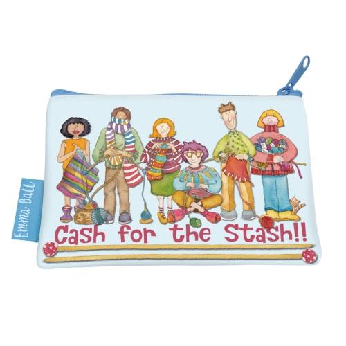 NEW Yarn Club Cash for the Stash purse