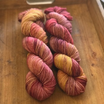 *New* Merino/nylon high twist sock yarn - Spice Market