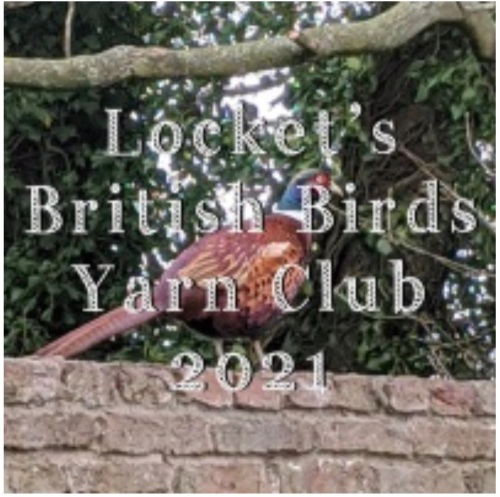 2. British Birds Yarn Club 2021 - Months 7-9