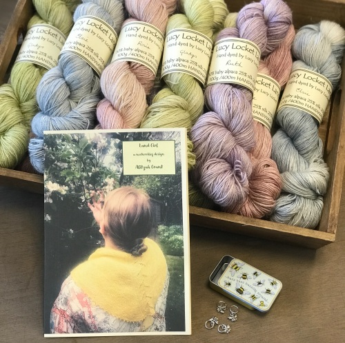 New Colours for the Land Girl Shawl Kit