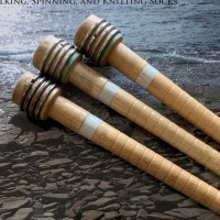 An upcycled Spinning Stick as used by Debbie Zawinski