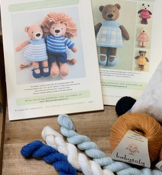 New Lion Girl with Organic Babytoly cotton