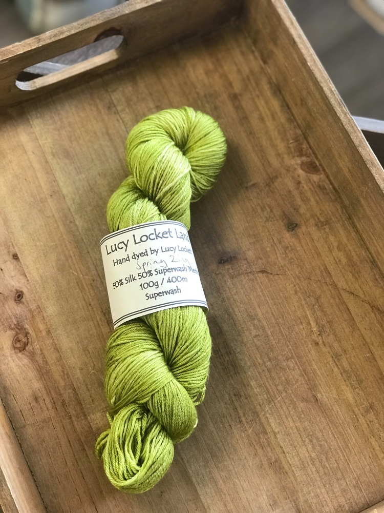 Merino/Silk 4ply - Spring Zing