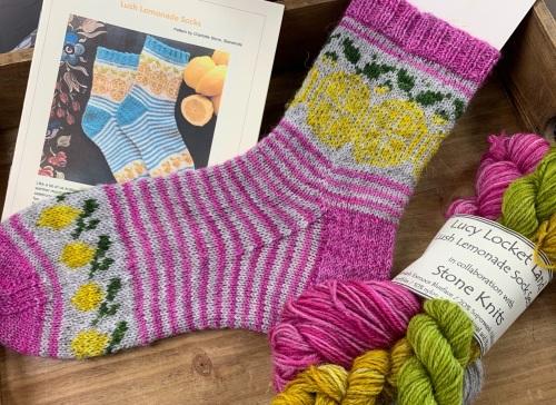Pink Lemonade Sock Kit