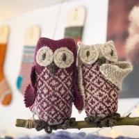 Owlbert & Olivia designed by Ella Austin