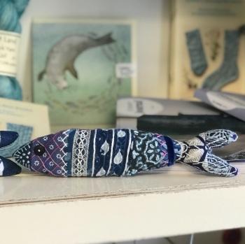 *Pre-Order*  Locket's Mindful Stitching Fish Kit