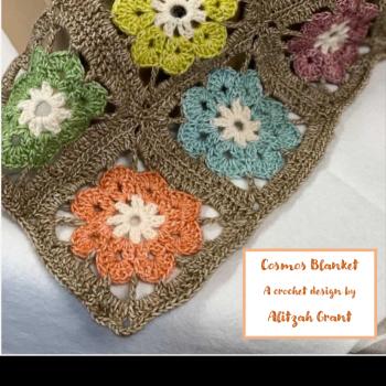 Cosmos Blanket printed pattern booklet