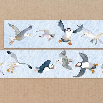 *New* Seabirds 20mm washi tape