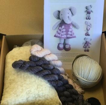 New Elephant Girl Kit in Babytoly cotton