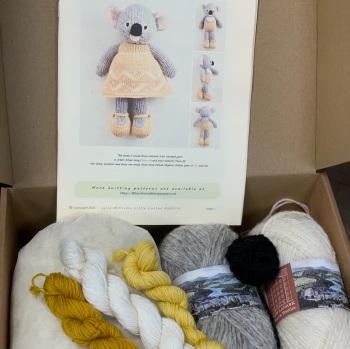 New Koala in a Dress Kit - Wool