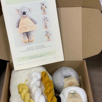 New Koala in a Dress Kit - Organic Cotton