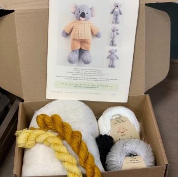 New Koala in a Jumper Kit - Organic Cotton