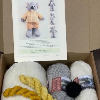 New Koala in a Jumper Kit - Wool