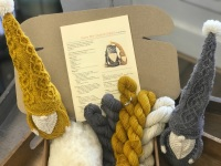 The Cable Guys  - Here we Gnome Again Kit - grey and mustard