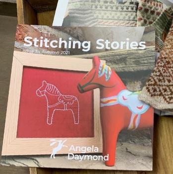 Stitching Stories #3 by Angela Daymond