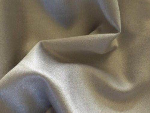 Frost Silver grey Satin Backed Crepe, BE0016