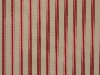 Red white stripe Cotton CO1108