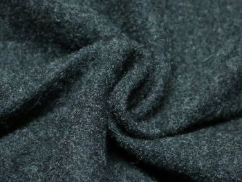Dark Grey Boiled Wool BW0055