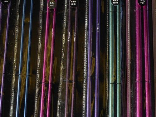 Zing Straight Knitting Needles, 33cm length