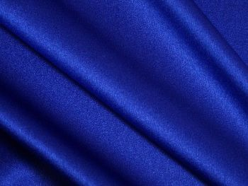 Royal blue Satin Backed Crepe, BE0061