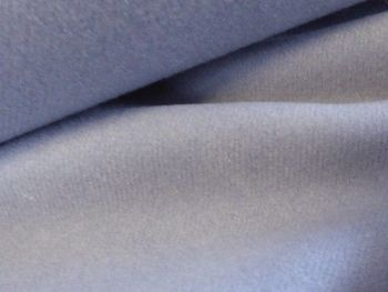 Smokey blue grey Wool Poly mix BW0030