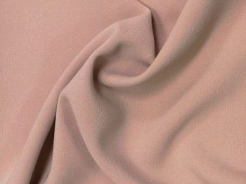 Blush rose Crepe, polyester PL0115