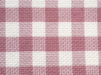 Pink check Poly acrylic wool, BP0002