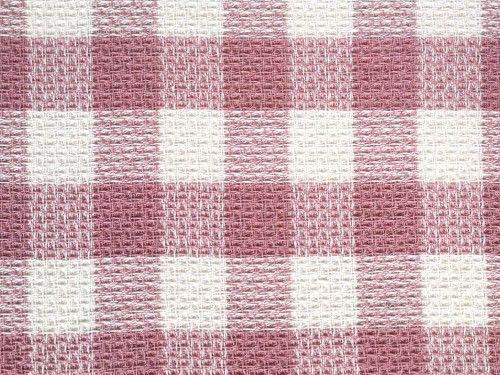 Pink check Poly acrylic wool, BP0002