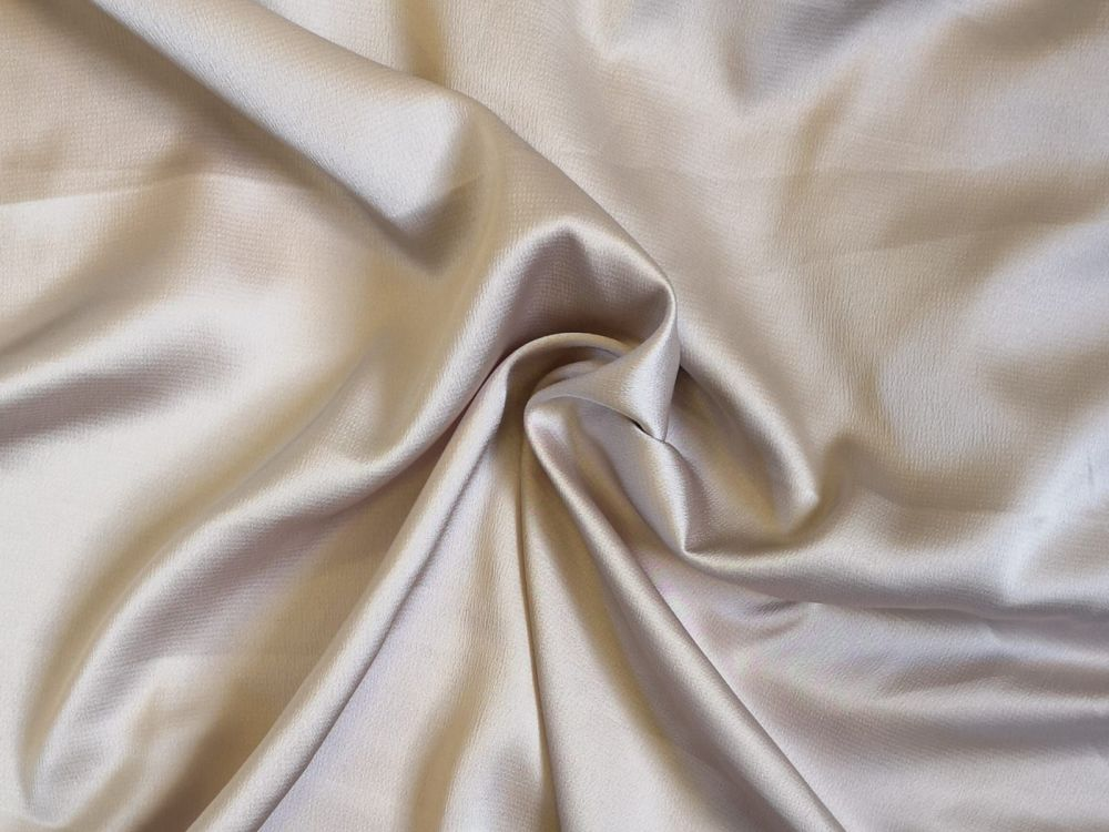 Blush nude Light weight Bubble Satin Crepe, polyester PL0106