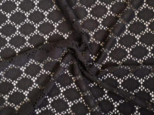 BLack Lace, polyester spandex PL0112