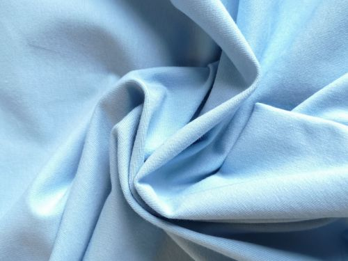 Sky blue Cotton Jersey, BJ0056
