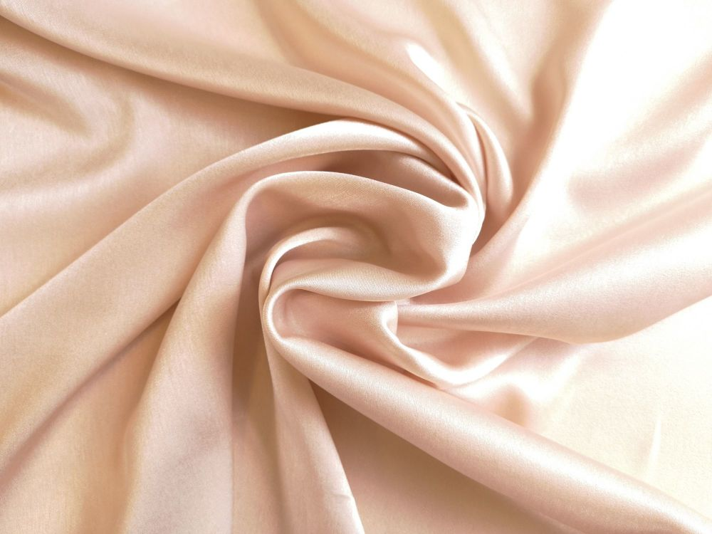 Light Champagne Satin Faille, BE0021