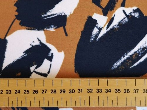 Mustard Tulip  Polyester, PL0118