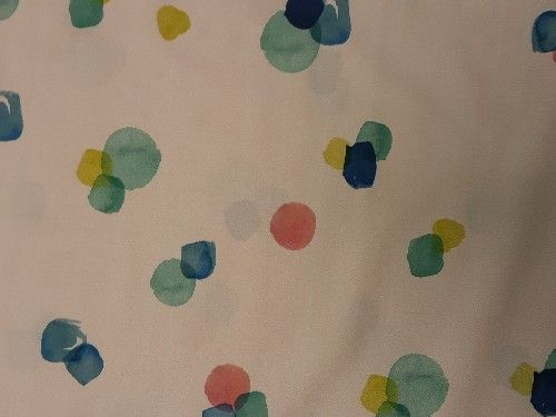 Pink prosecco print Cotton lawn CO1214