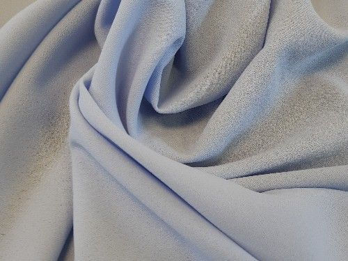 Pale blue, light weight Crepe, polyester PL0028