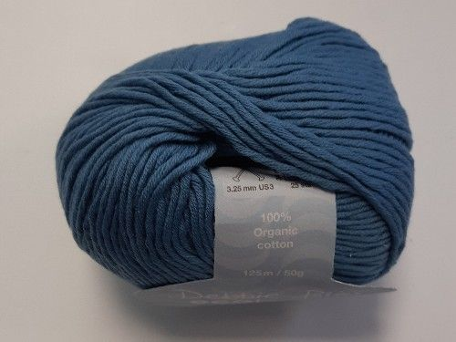 Petrol blue, Fairtrade Eco Baby Cotton