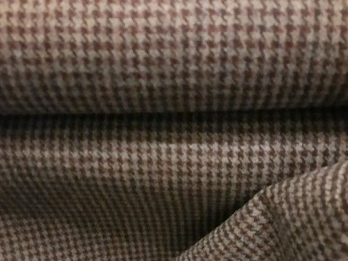 Maroon Houndstooth , BW0006