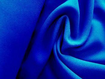 Royal Blue Triple Crepe, polyester BP0004