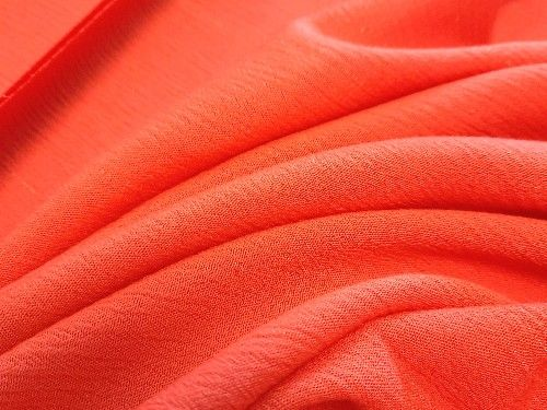 Orange with lurex stripe  Viscose  VC0054