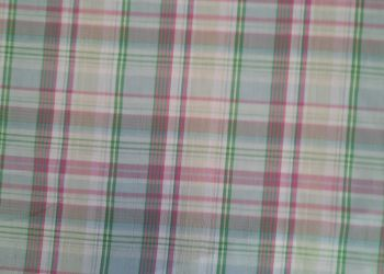 Fine cotton, pink  and green check CO1243