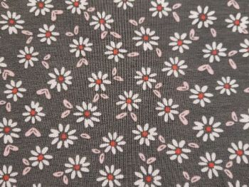 Grey with flowers Jersey, BJ0027