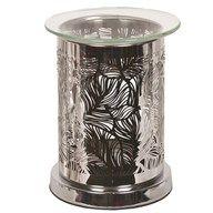 Mirror leaf tealight burner