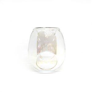 Glass bubble Wax Burner