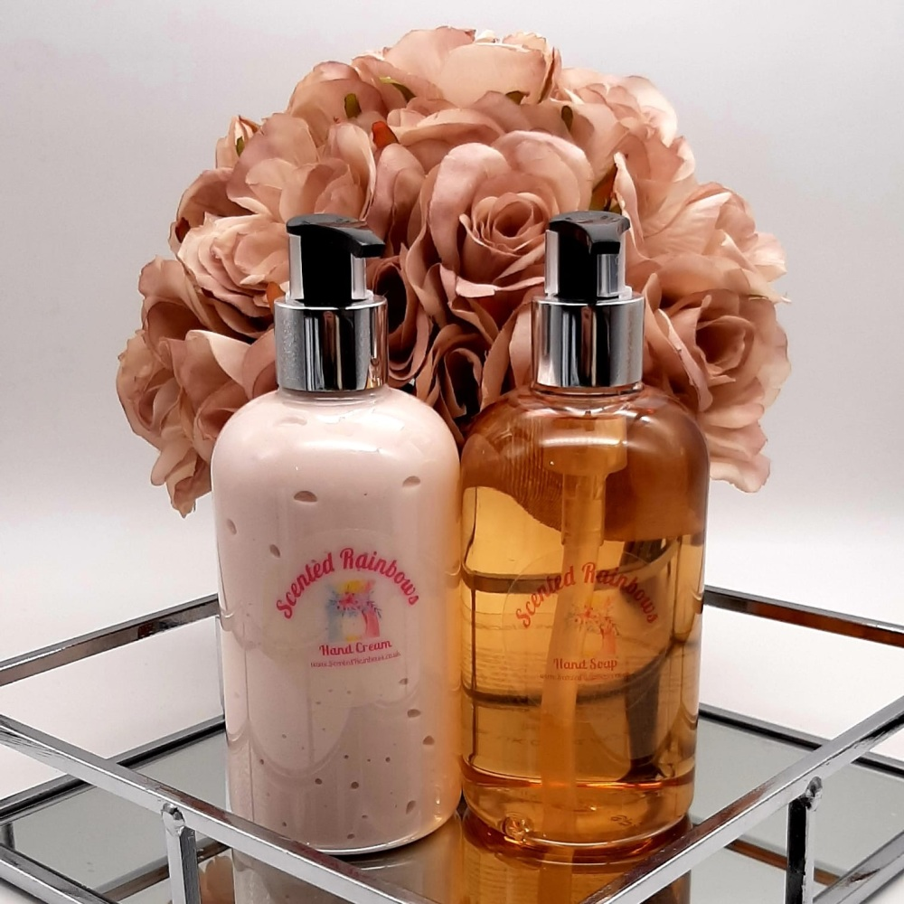 Raspberry & Peppercorn Luxury Hand Wash & Lotion Set