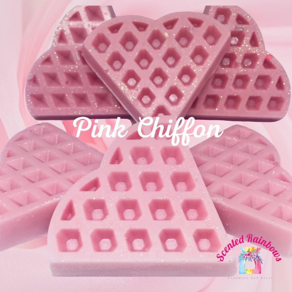 Pink Chiffon Waffle