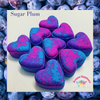 Sugar Plum Heart Bath Bomb