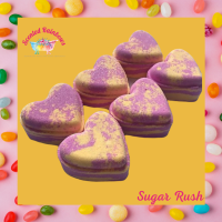 Sugar Rush Heart Bath Bomb